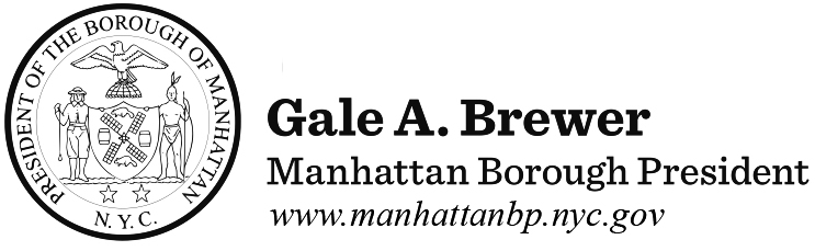 Office of the Manhattan Borough President Gale A. Brewer